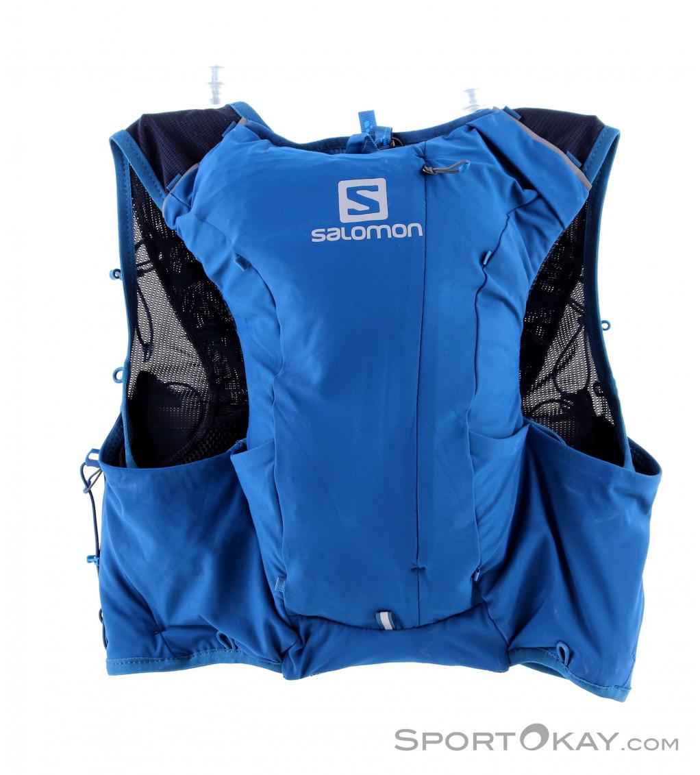 cartellone collo Decano  Salomon ADV Skin 8l Set Donna Gilet da Trail Running - Zaini - Zaini &  torce da testa - Outdoor - Tutti