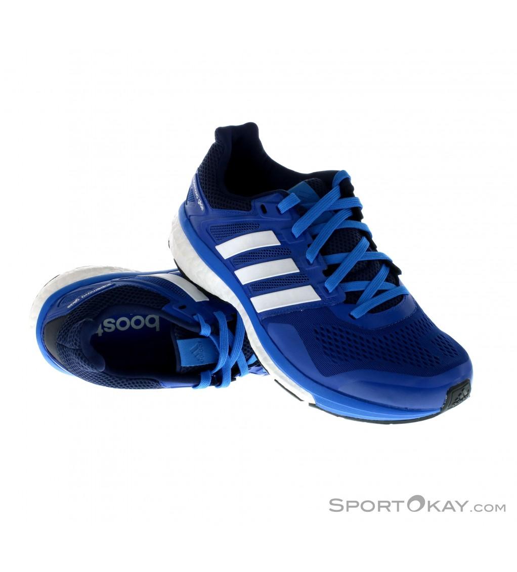 Adidas Supernova Glide 8 per scarpe da corsa Blu Corsa