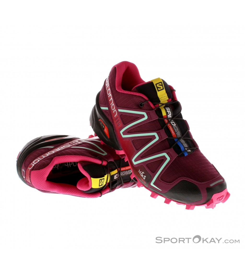 salomon speedcross 3 womens trail running shoes trail. Black Bedroom Furniture Sets. Home Design Ideas