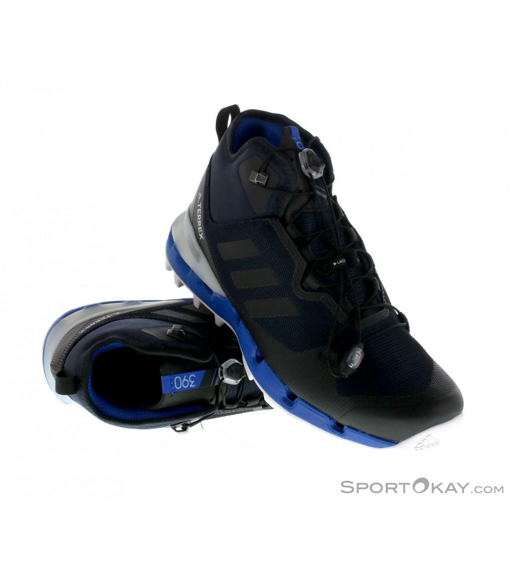 adidas adidas Terrex Fast Mid GTX Mens Hiking Boots Gore Tex
