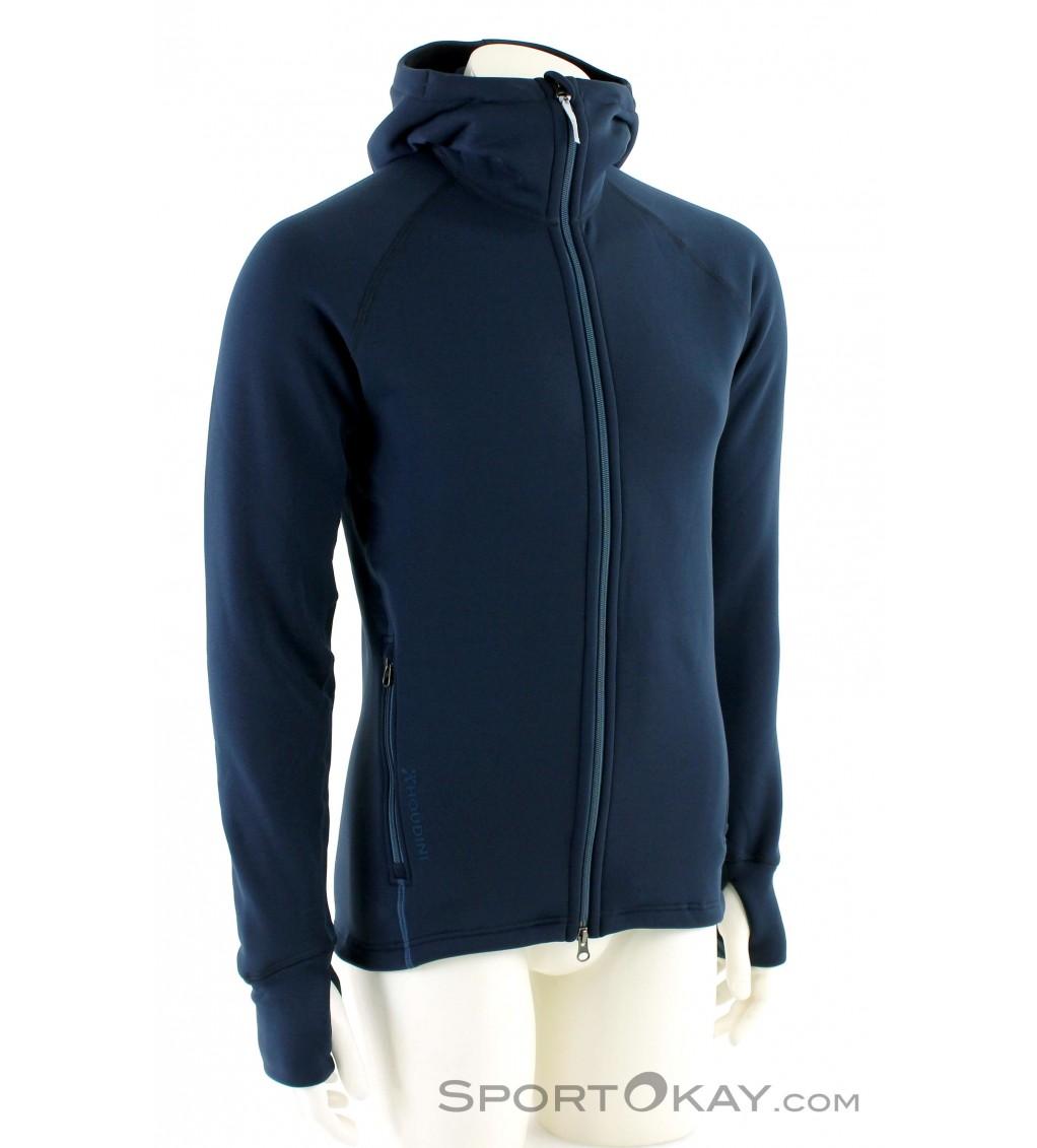 grossist online det senaste officiell butik Houdini Power Houdi Mens Fleece Jacket - Sweaters - Outdoor ...