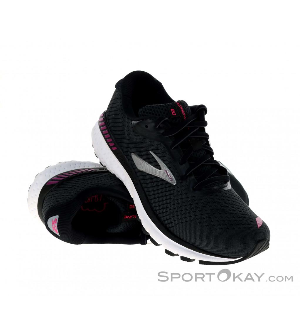 Brooks Bedlam UK 5 Women/'s Running Trainers Pink Black White