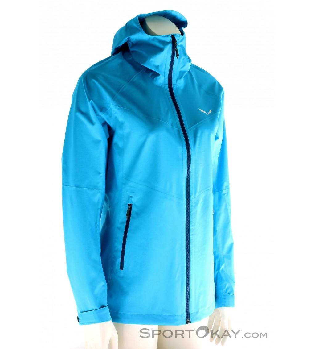 Salewa Puez Aqua 3 PTX Jacket Womens Outdoor Jacket