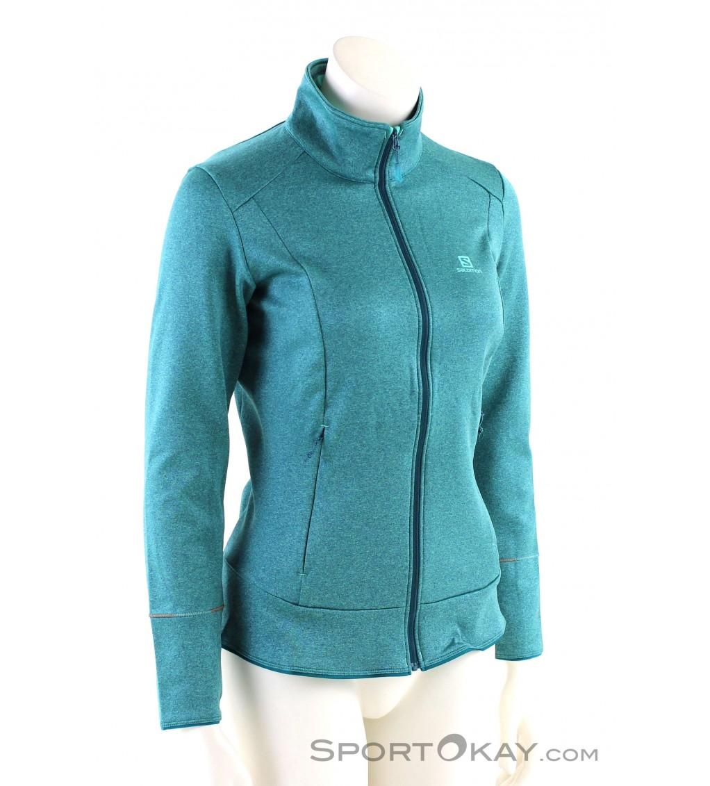 Salomon Salomon Discovery FZ Womens Ski Sweater