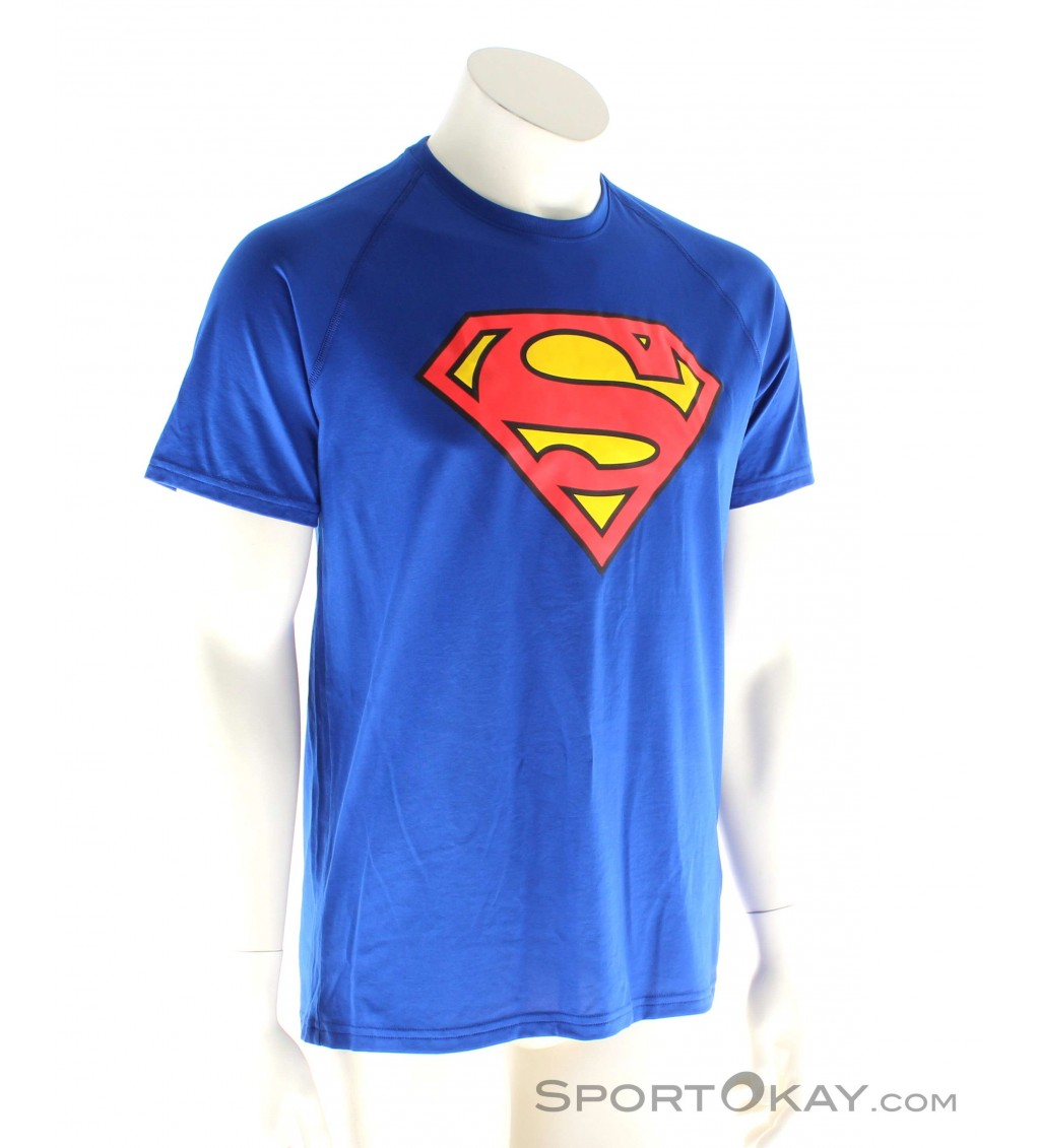 tormenta moverse Chelín  Under Armour Superman Tee Mens Fitness Shirt - Shirts & T-Shirts - Fitness  Clothing - Fitness - All