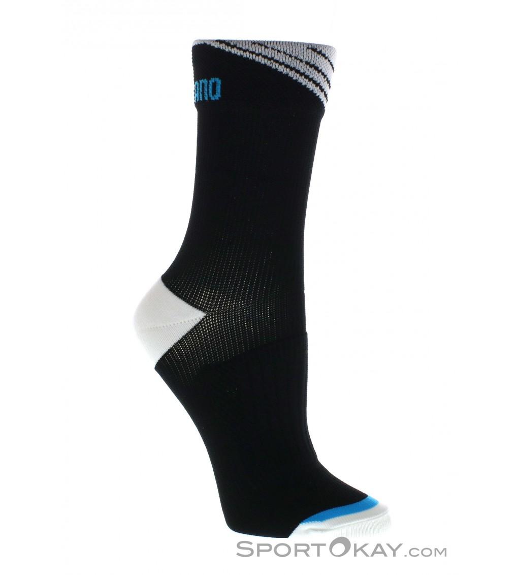 Black Shimano Winter Cycling Socks Extra Large 46-48