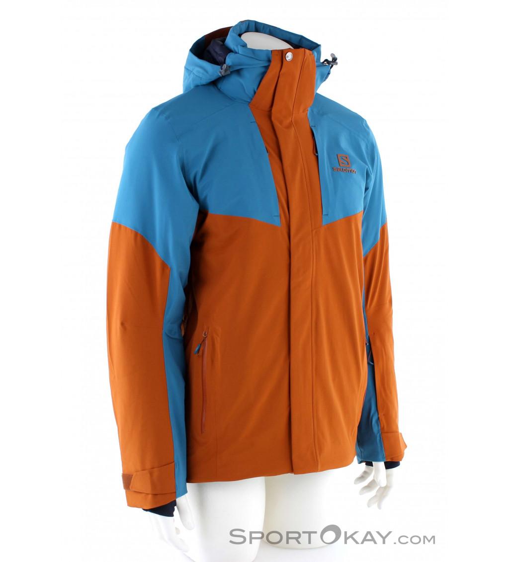 Salomon Icerocket Jacket Mens Ski Jacket Ski Jackets Ski s34jw