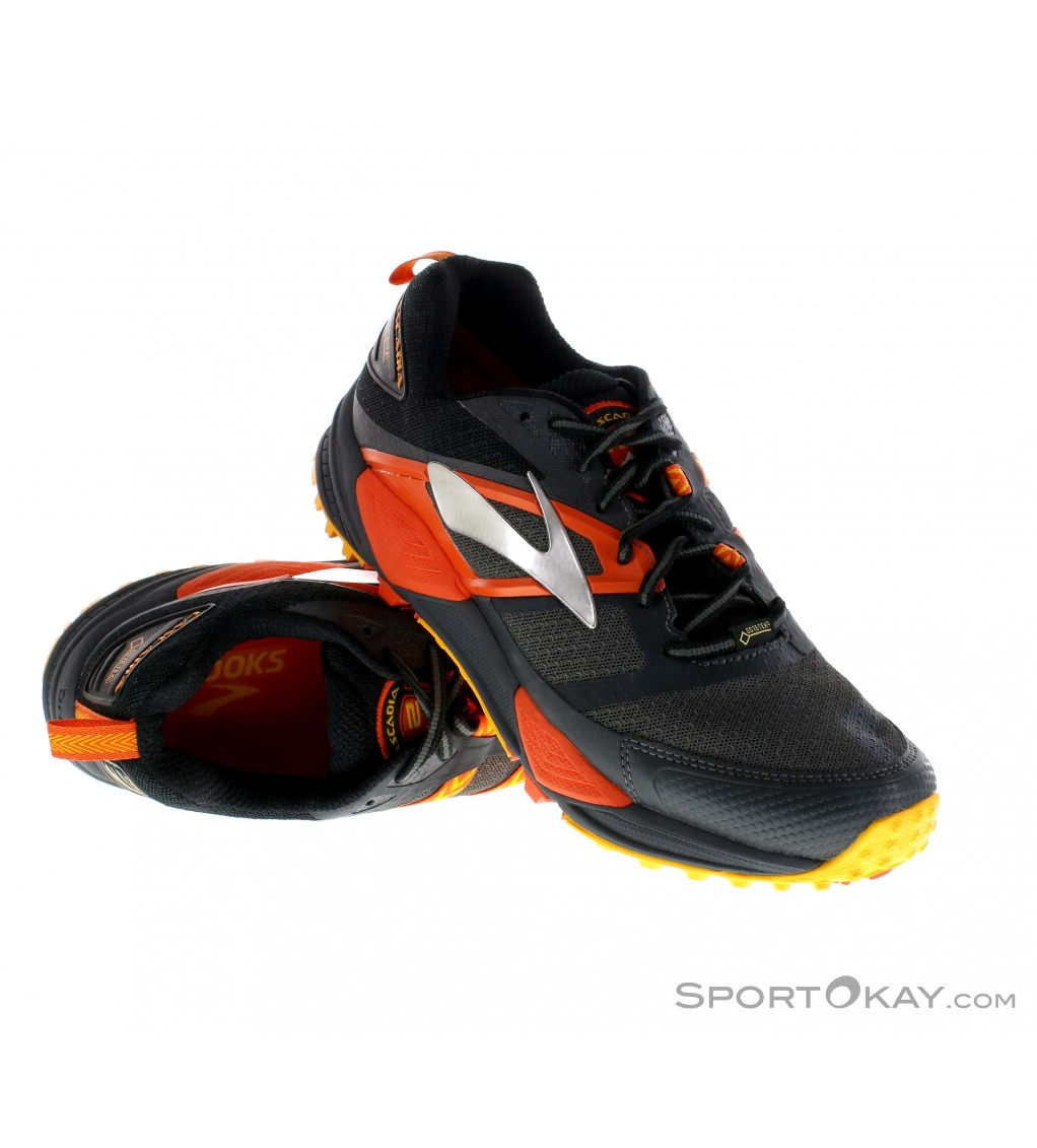 176d8c645b93e Brooks Cascadia 12 GTX Mens Trail Running Shoes Gore-Tex - All-Round ...