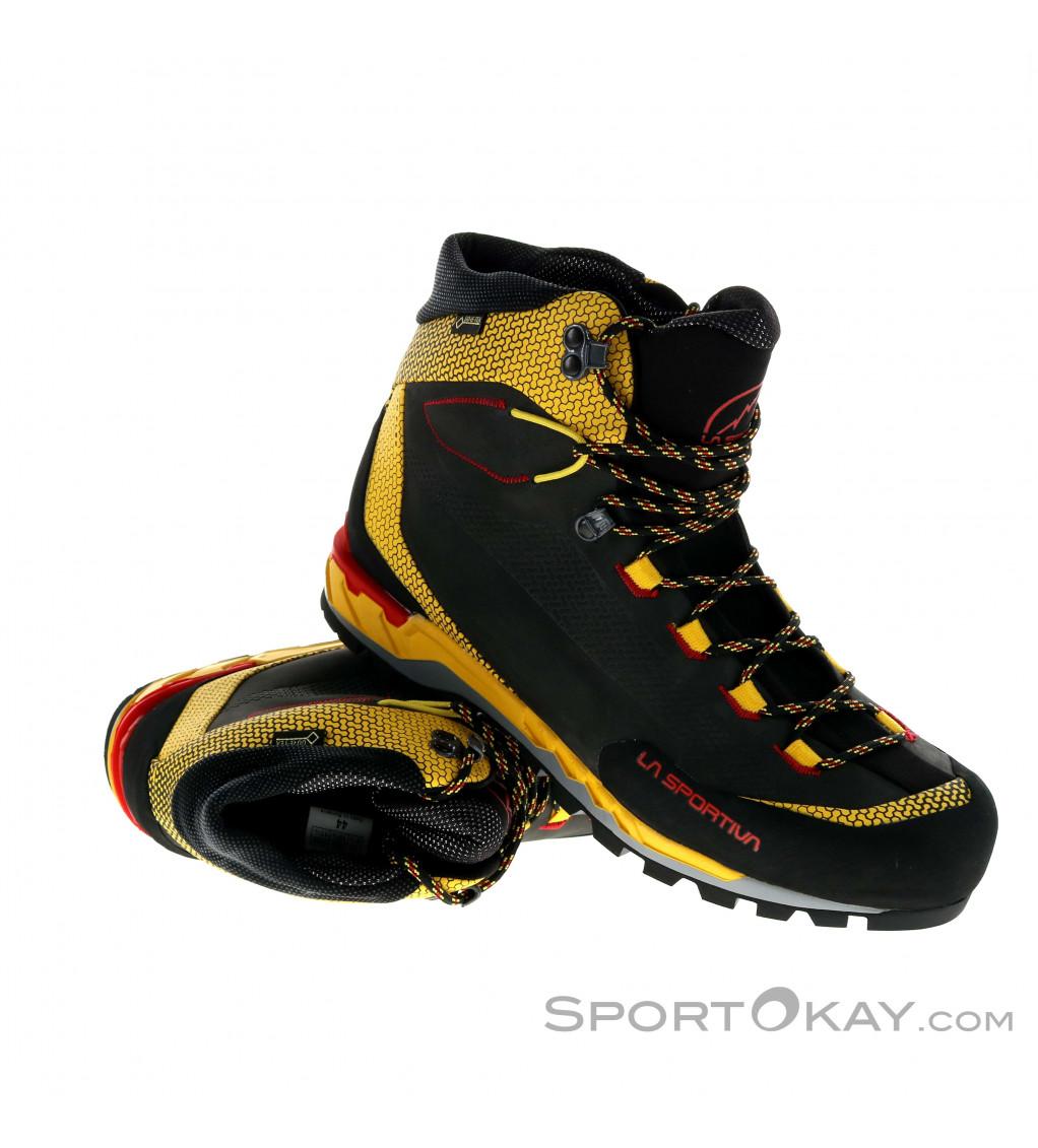 Yellow Black All Sizes La Sportiva Trango Trek Gtx Mens Footwear Walking Shoes