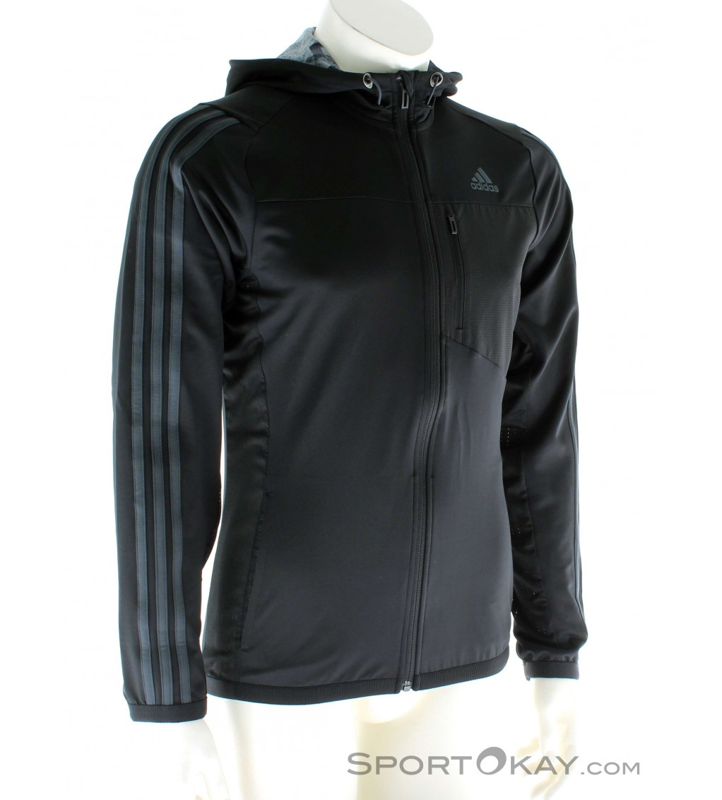 adidas Jacket Hoody Workout Mens Training Jacket