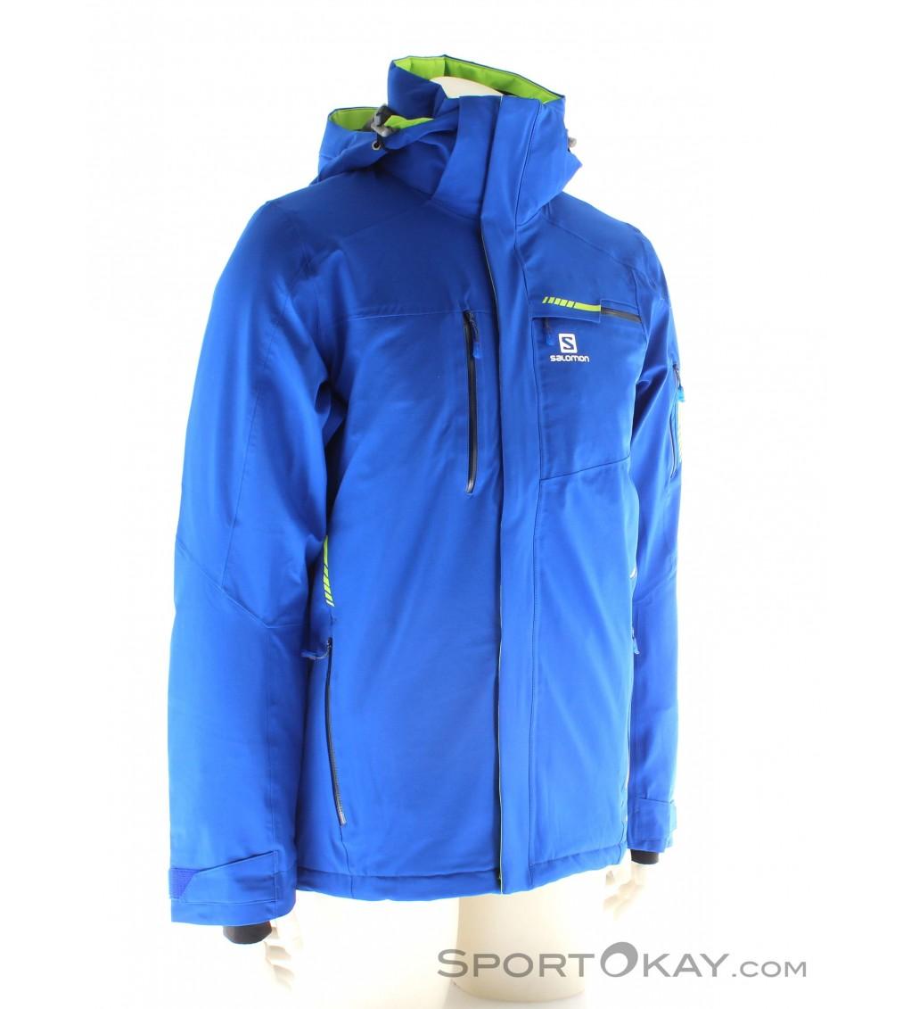 Salomon Brilliant Jacket Mens Ski Jacket