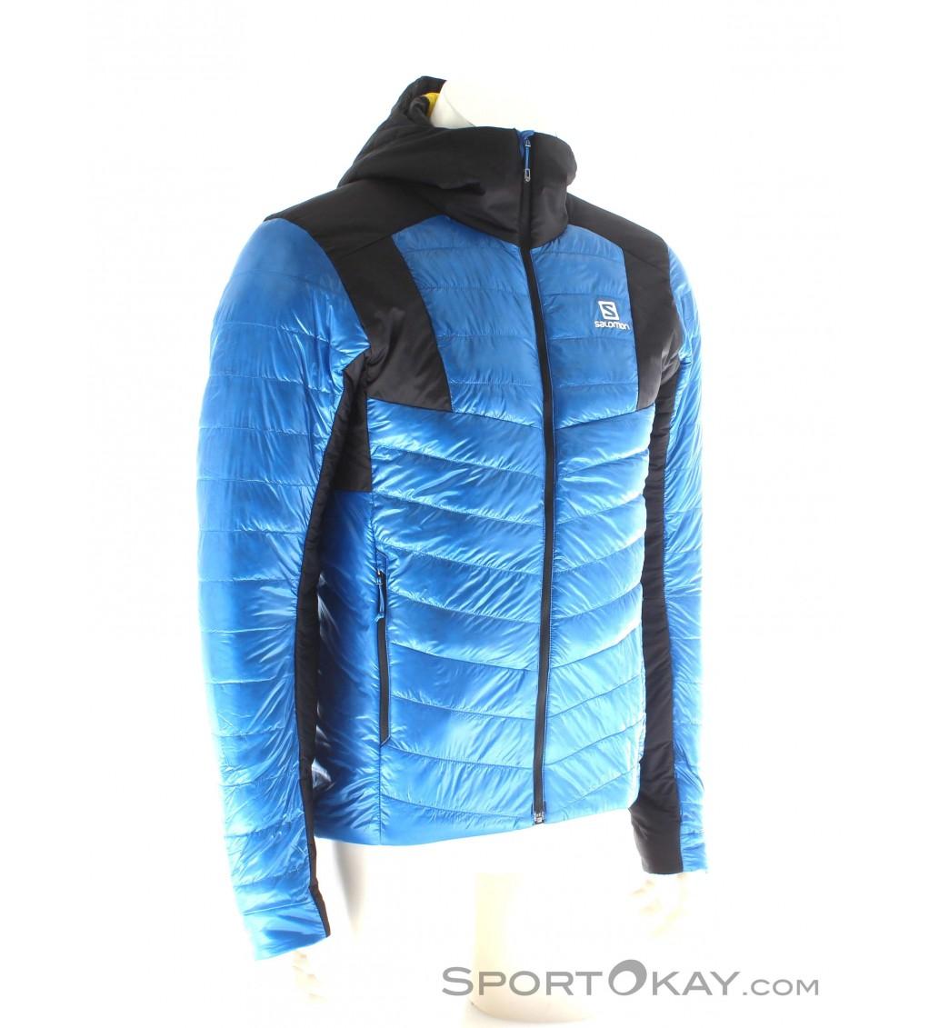 Salomon Salomon S LAb X Alp Down Hoodie Mens Ski Touring Jacket