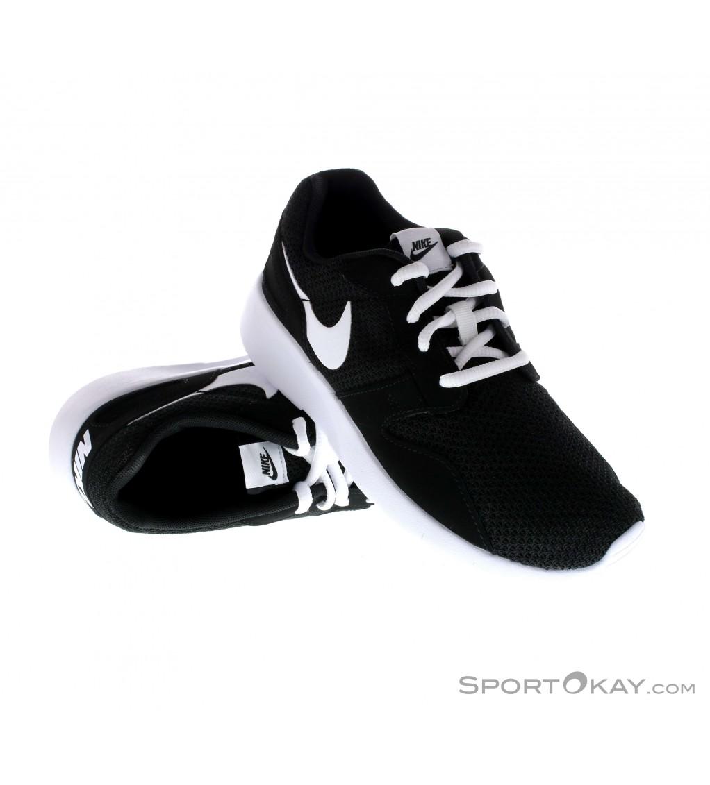 GS Nike Kaishi Print Boy/'s Shoes Black//Red//White Color