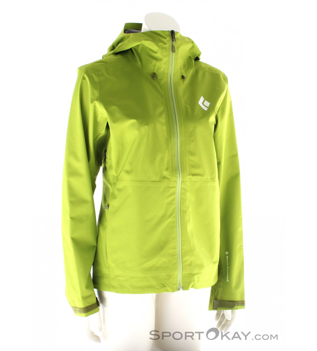 Black Diamond Black Diamond Liquid Point Womens Outdoor Jacket Gore Tex