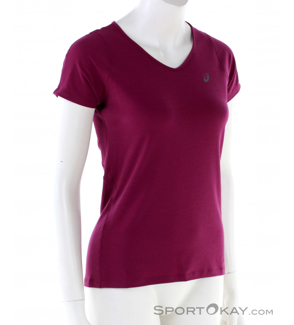 Asics Asics V-Neck Womens T-Shirt