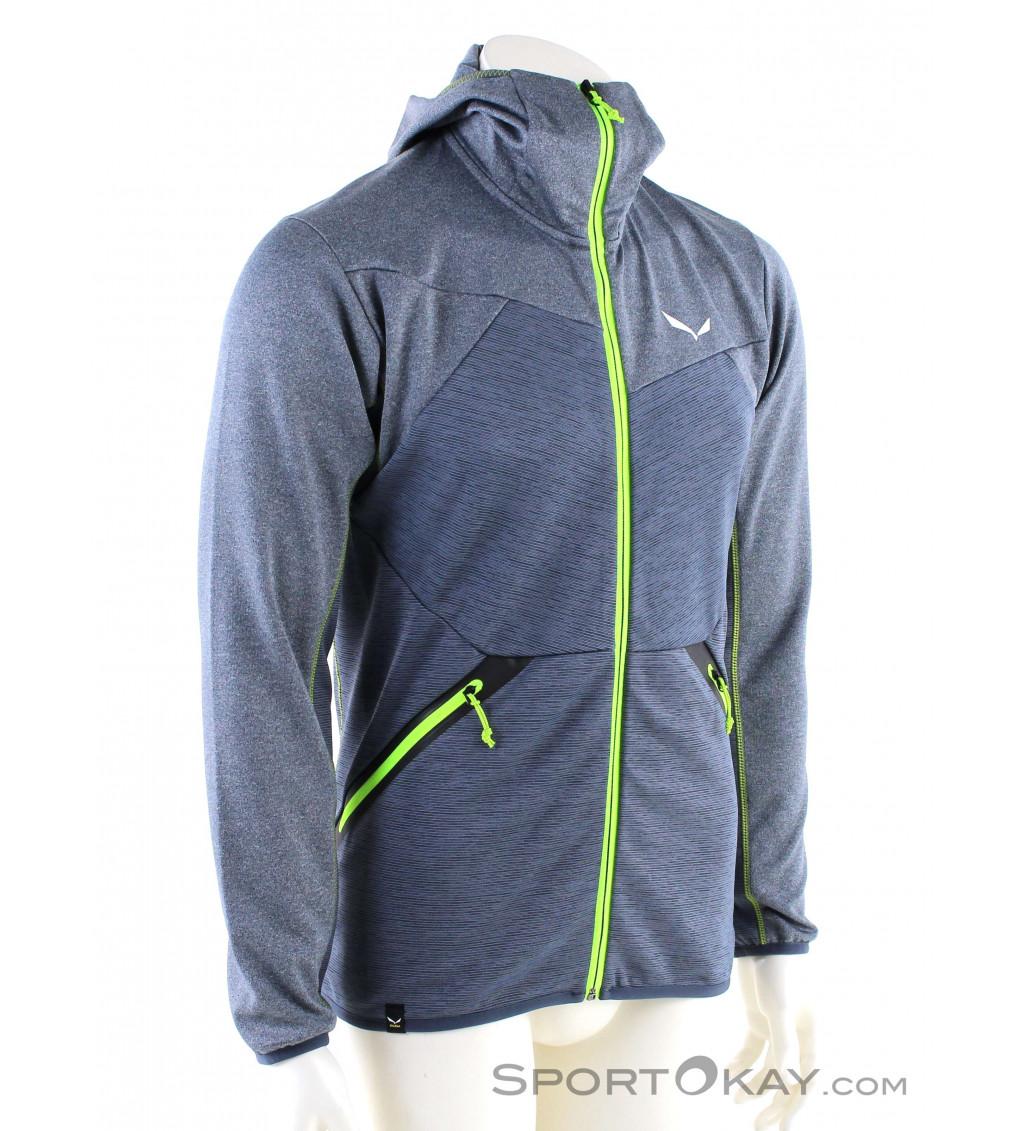 Salewa Herren Puez 2 Dry M L//S Hood Fz Tee Pullover /& Sweatshirts