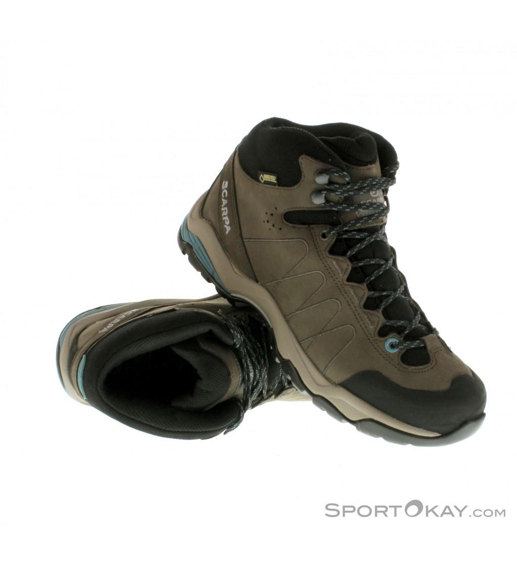 Scarpa Moraine Plus Mid GTX Womens Trekking Shoes Gore Tex