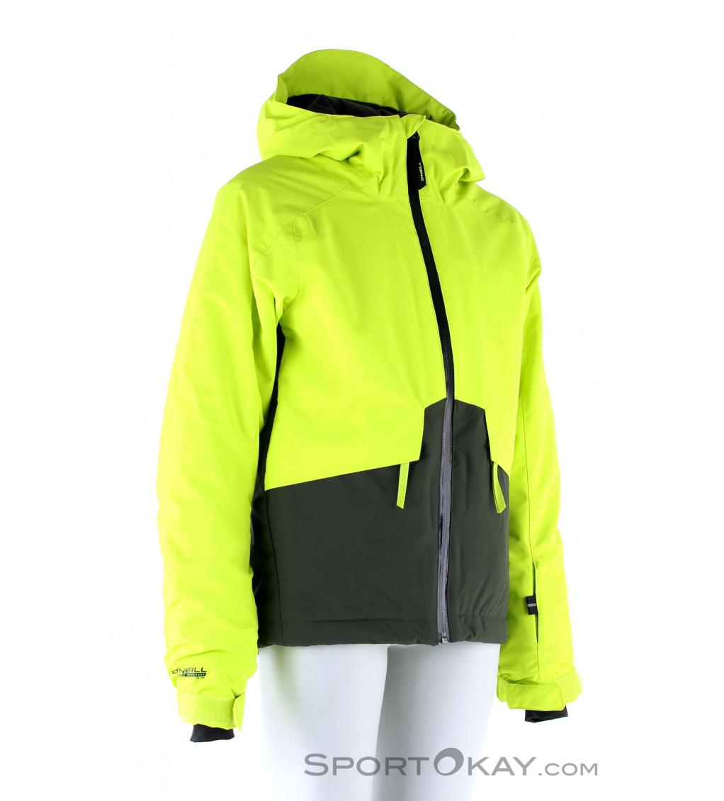 ONEILL Womens Waterproof Hooded Windbreaker Rain Jacket