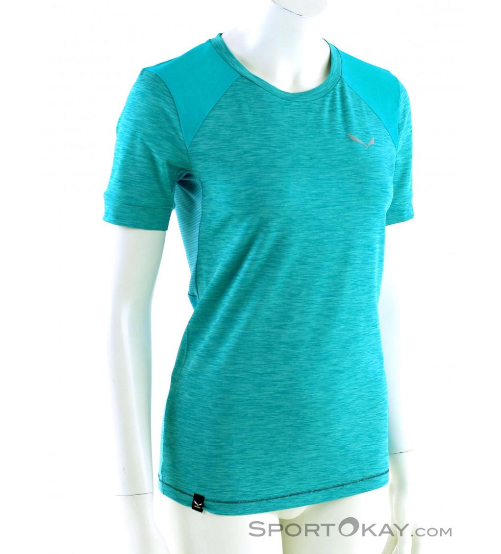 Salewa Salewa Pedroc Hybrid Dry SS Womens T Shirt