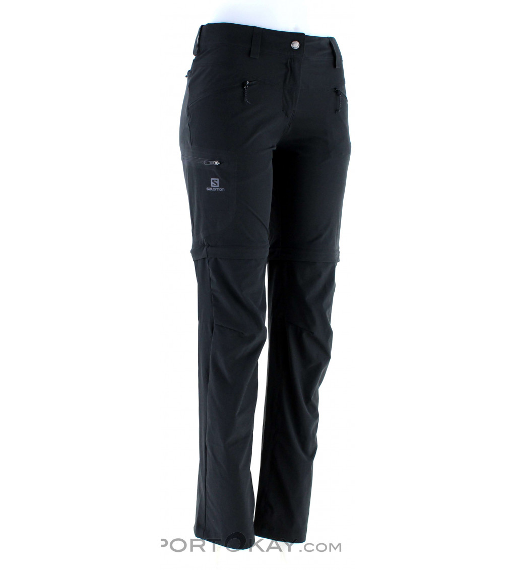 Salomon Salomon Wayfarer Straight Zip Pan Womens Outdoor Pants