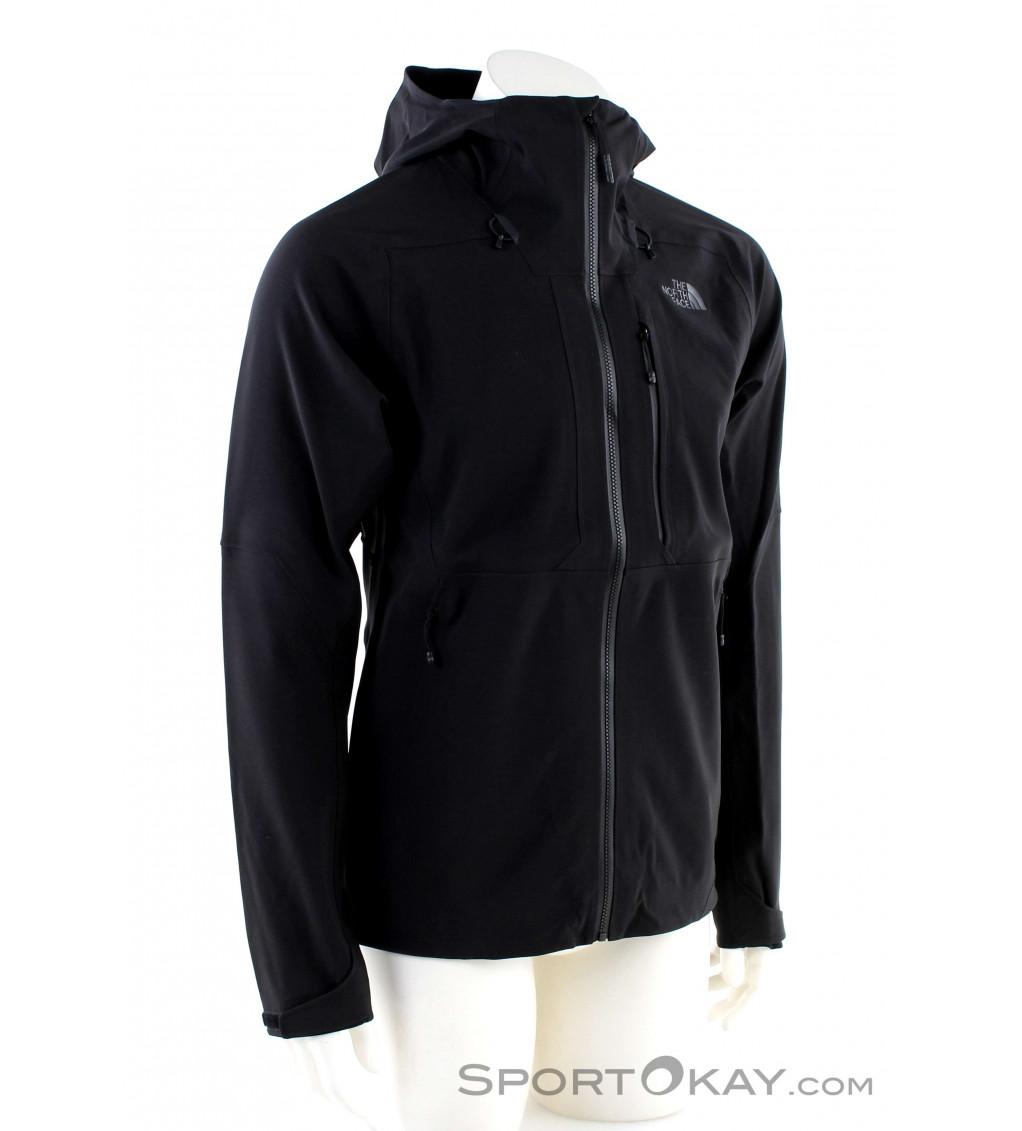 The North Face Waterproof Jacket Apex Flex GTX 2.0 Red Black Men