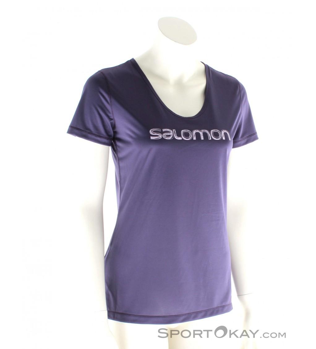 Salomon Mazy Graphic SS Tee Womens Outdoor T Shirt Shirts N77mz