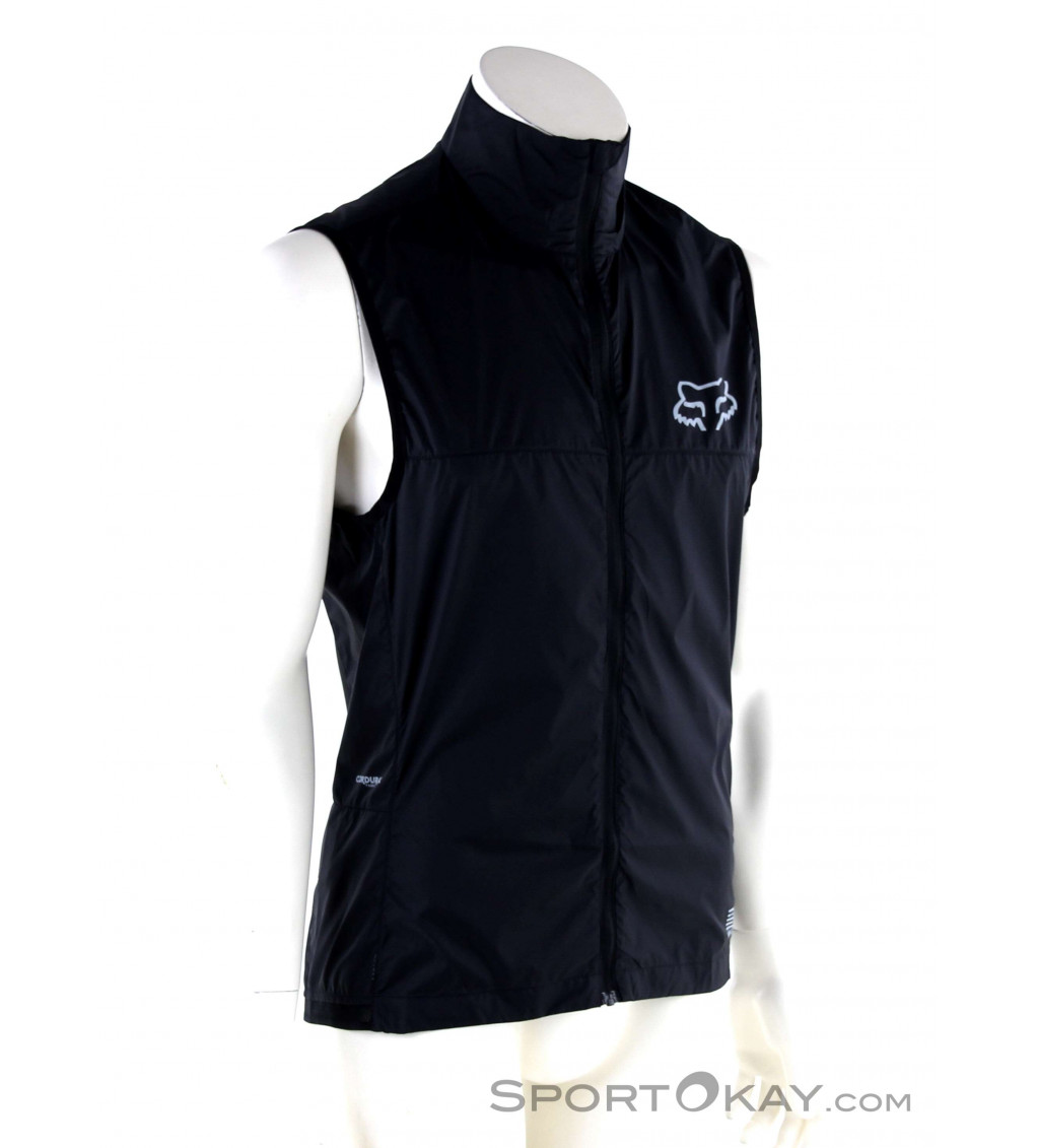 Cycling Bicycle Bike Outdoor Sleeveless Jersey Wind Vest Black