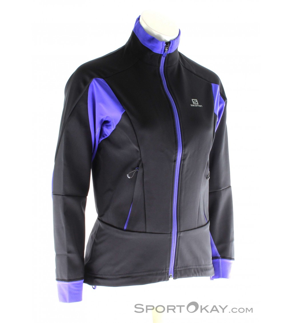 Salomon Momentum Softshell Womens Outdoor Sweater Sweaters