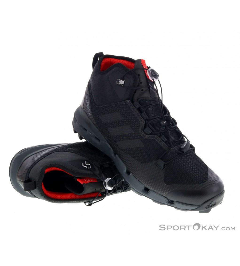 progenie Bisagra déficit  adidas Terrex Fast Mid GTX Mens Hiking Boots Gore-Tex - Hiking Boots -  Shoes & Poles - Outdoor - All