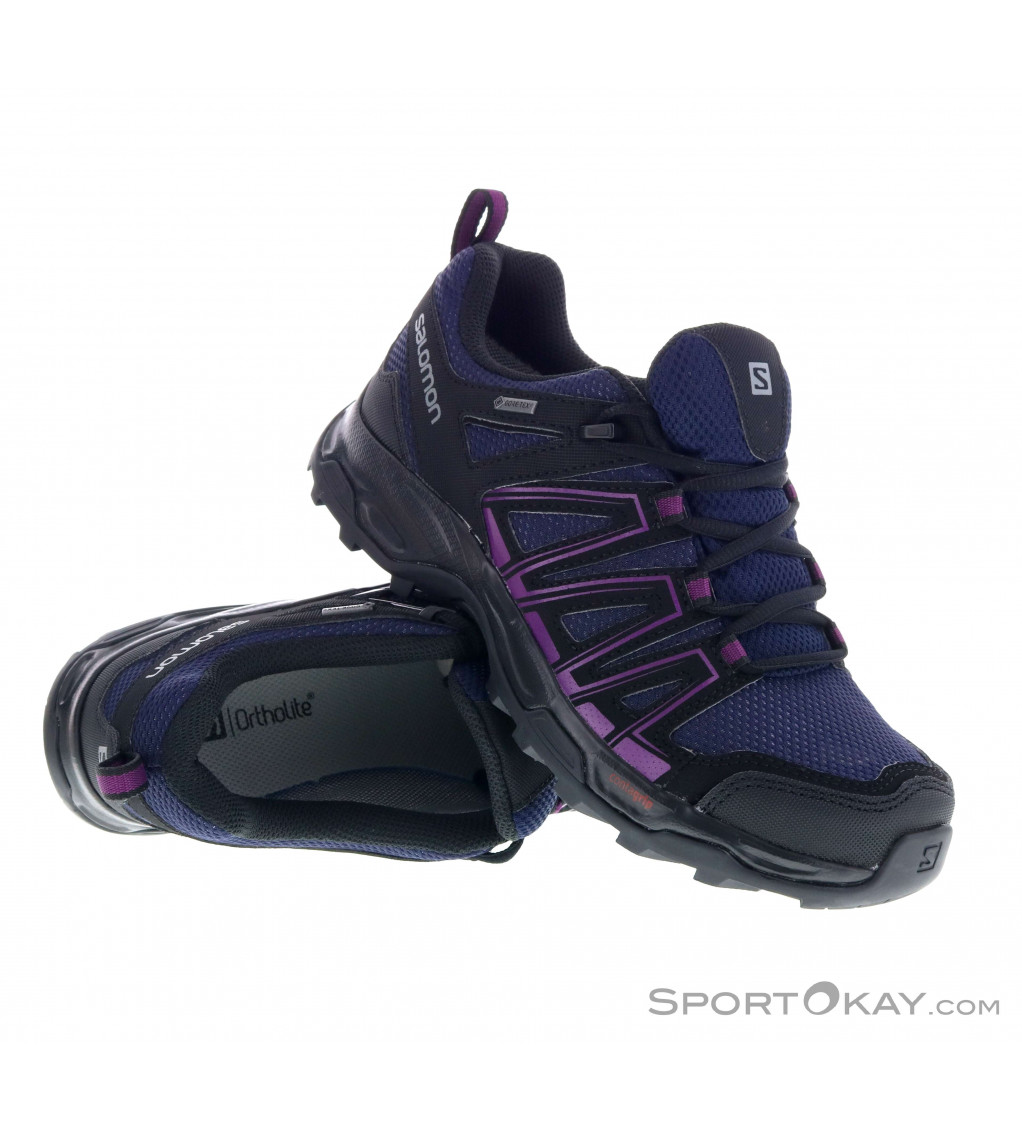 Salomon Salomon X Ultra 3 GTX Womens Trekking Shoes Gore Tex