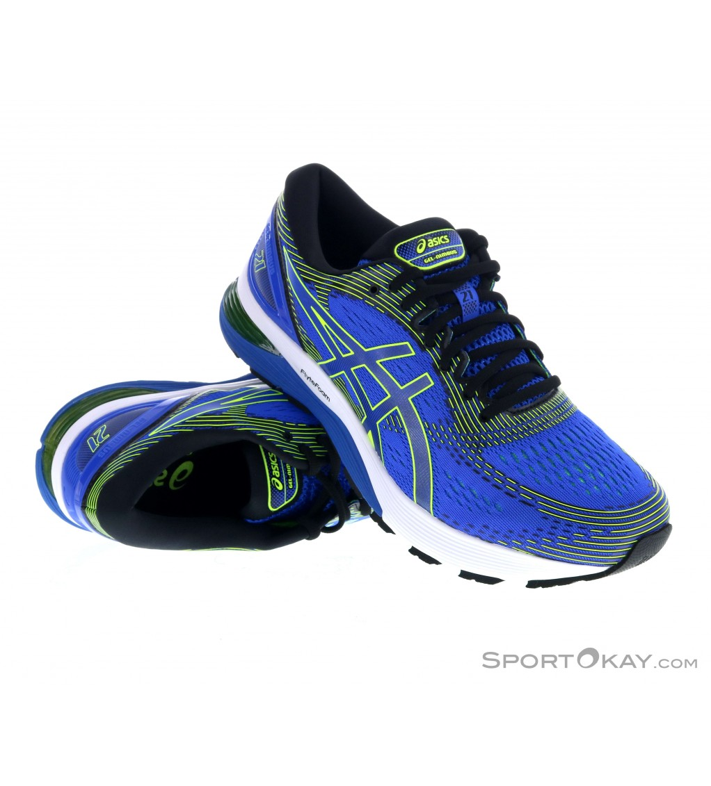 Asics Nimbus 21 Mens Running Shoes Fitness Shoes Fitness
