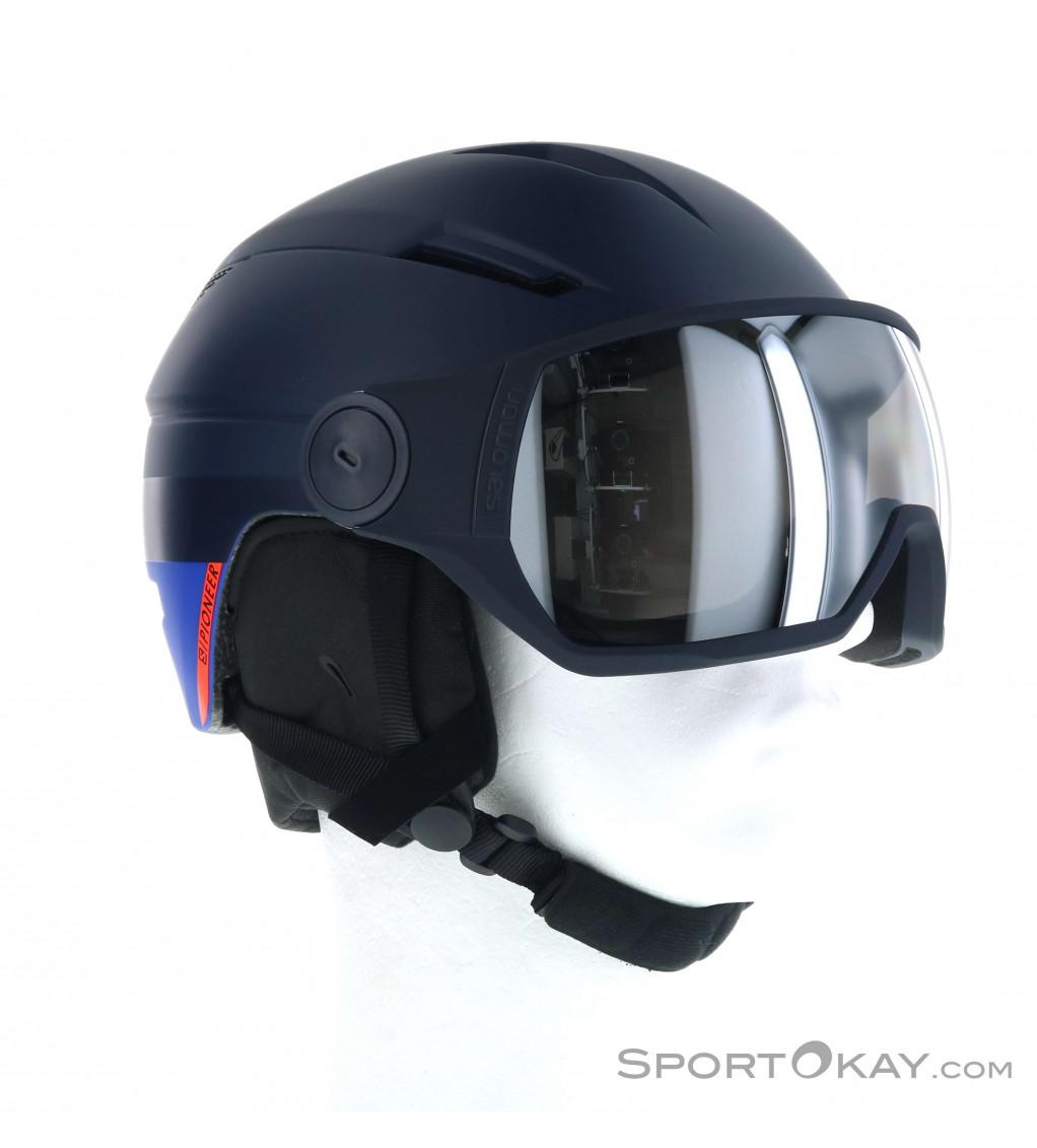 Salomon Salomon Pioneer Visor Mens Ski Helmet