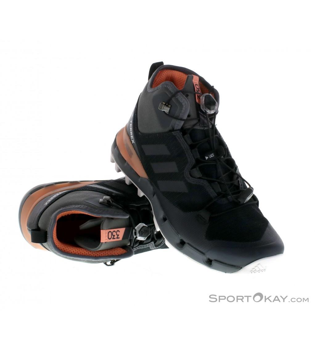 adidas adidas Terrex Fast Mid GTX Womens Hiking Boots Gore Tex