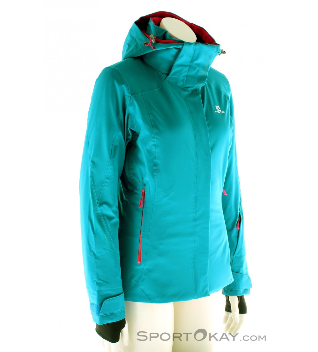 Salomon Brilliant Jacket Womens Ski Jacket Ski Jackets