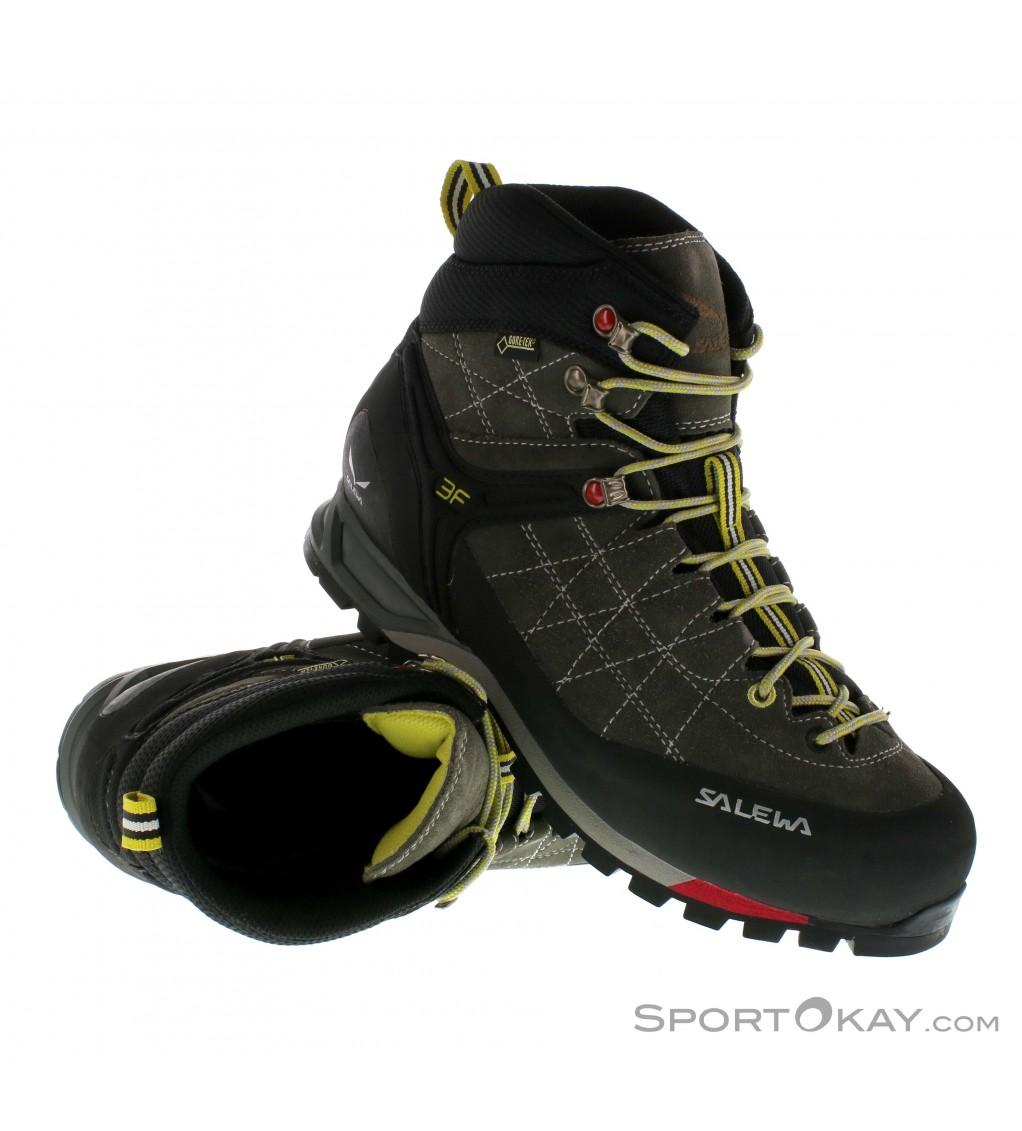 Salewa Salewa MTN Trainer Mid GTX Mens Approach Shoes Gore Tex JzYLo