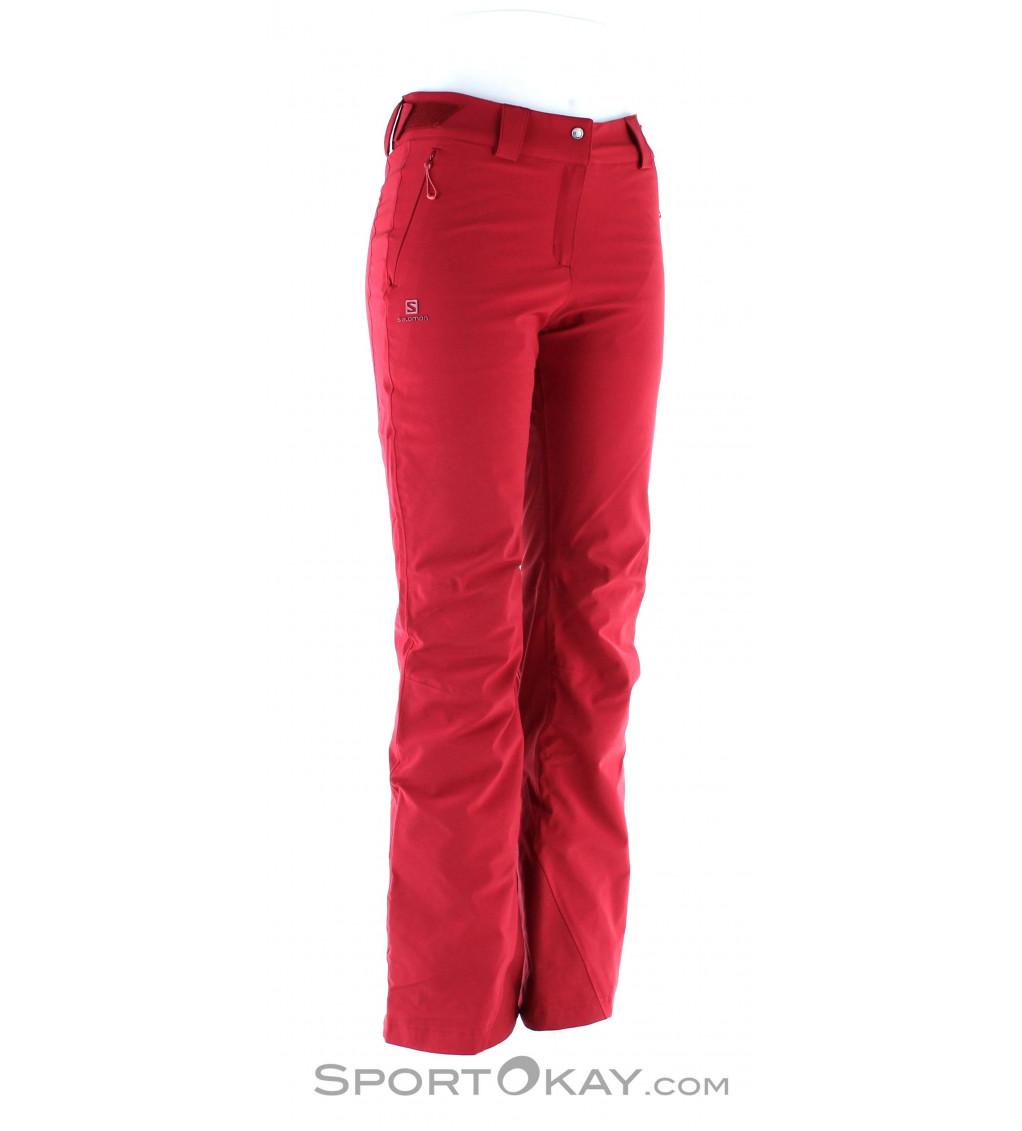 Salomon Icemania Pant Womens Ski Pants Ski Pants Ski Clothing Ski Freeride All