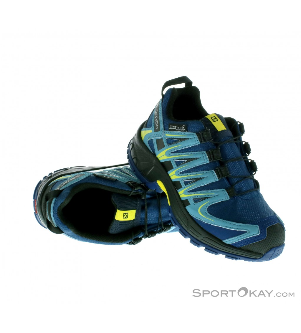 Salomon Salomon XA Pro 3D CS WP Kids Trail Running Shoes