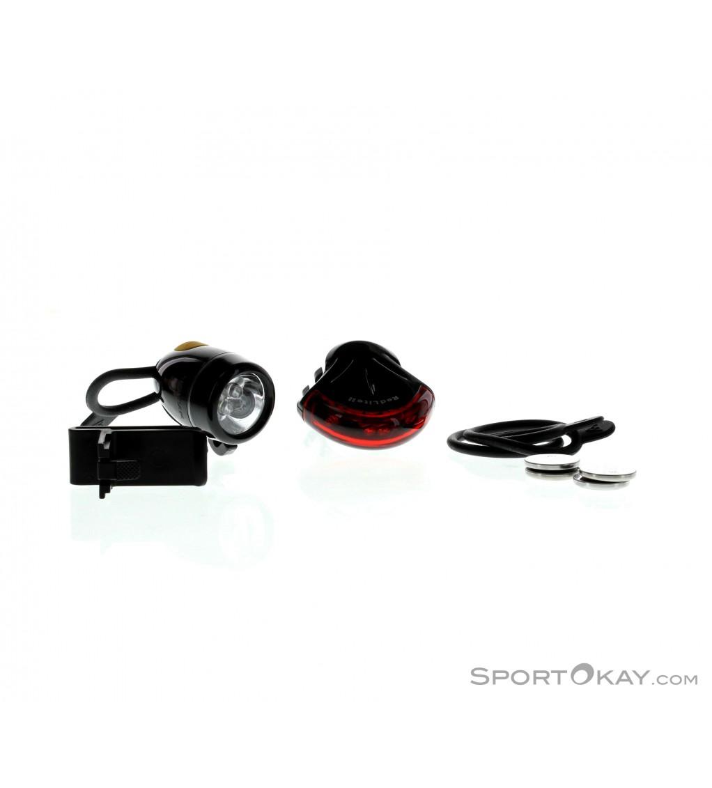 New Topeak WhiteLite II Bike Headlight 3 LED Easy Mount Bicycle Light.
