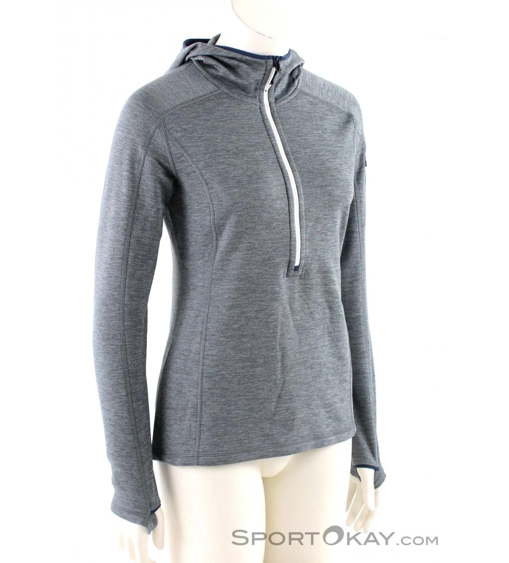 Ortovox Ortovox Fleece Light Melange Zneck Womens Fleece Jacket
