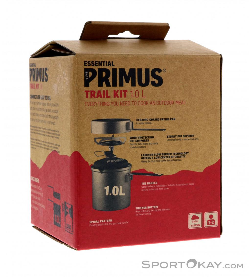 Pot /& Windbreaker Kit Primus Express T1 Titanium Stove