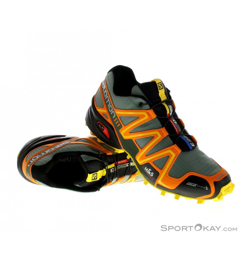 nouveau concept 18769 28a29 Salomon Salomon Speedcross 3 CS Mens Trail Running Shoes