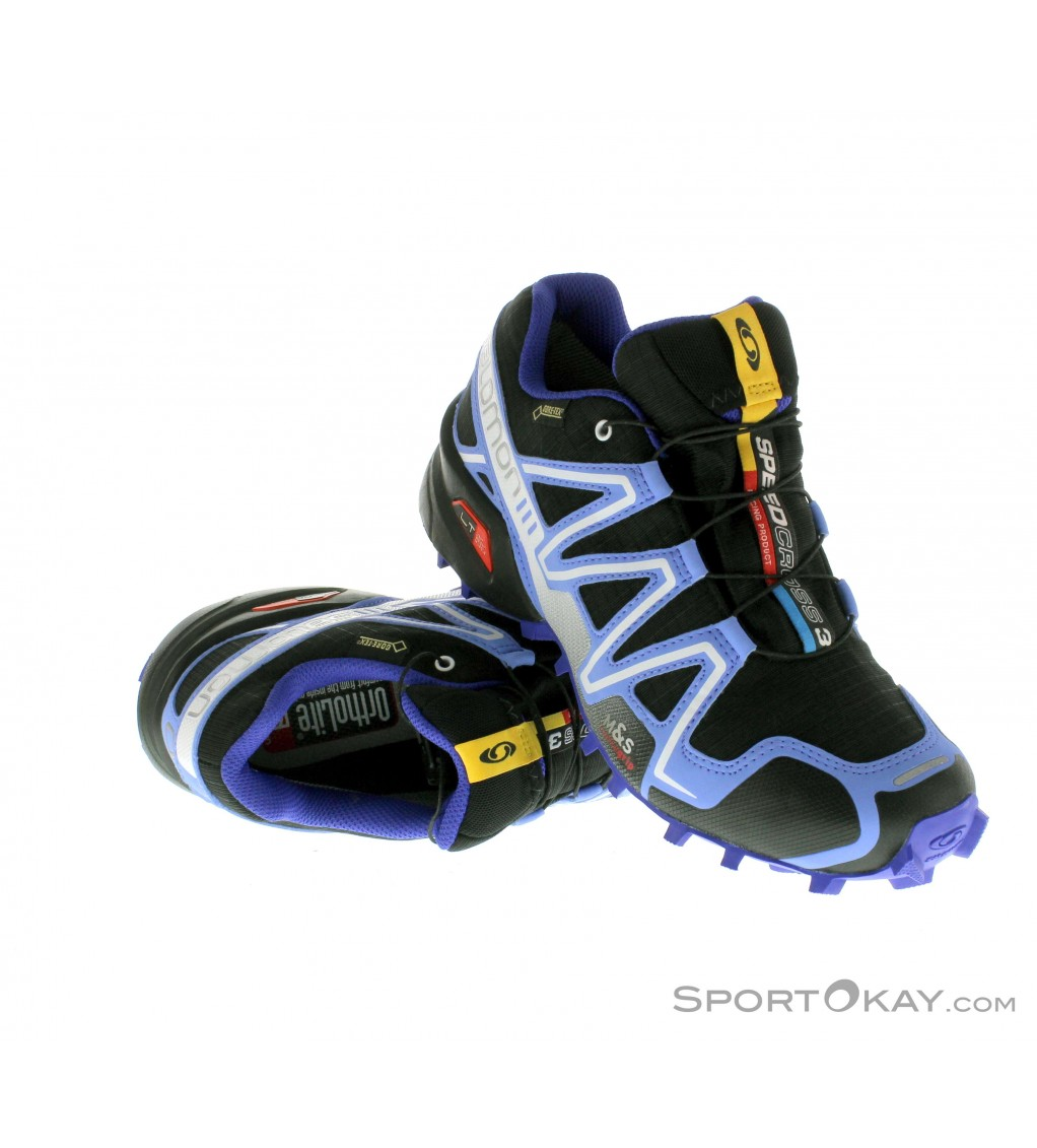 salomon speedcross 3 gtx damen traillaufschuhe gore tex. Black Bedroom Furniture Sets. Home Design Ideas