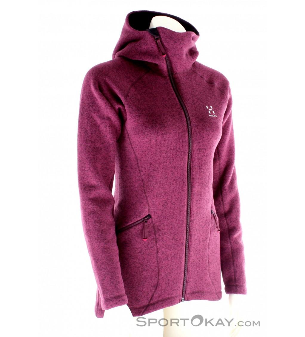 Haglöfs Softshell Functional Jacket Viper II Hood Women/'s Black Size L