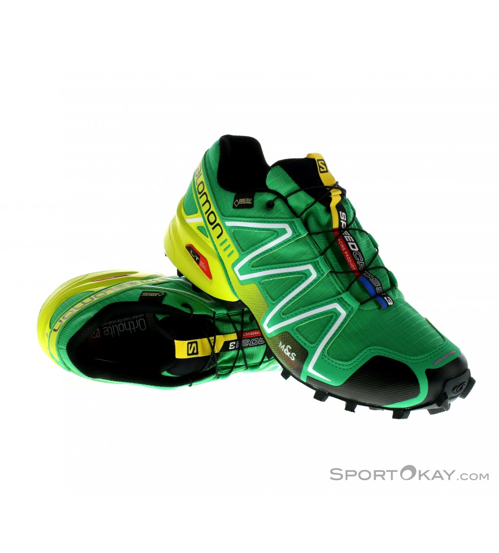 Salomon Salomon Speedcross 3 GTX Mens Trail Running Shoes Gore Tex