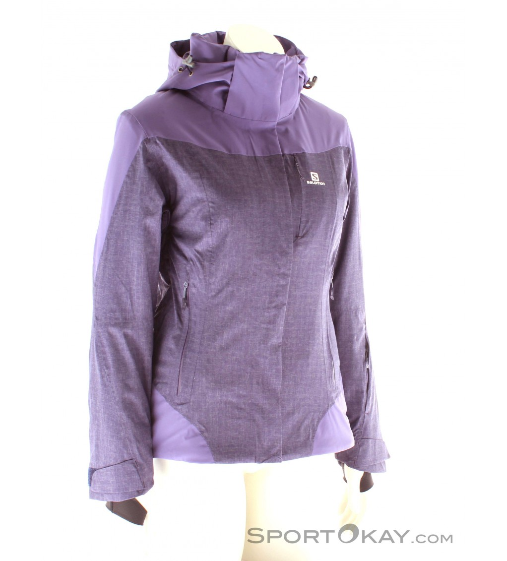 Salomon Icerocket Mix Jacket Womens Ski Jacket Jackets XthzM