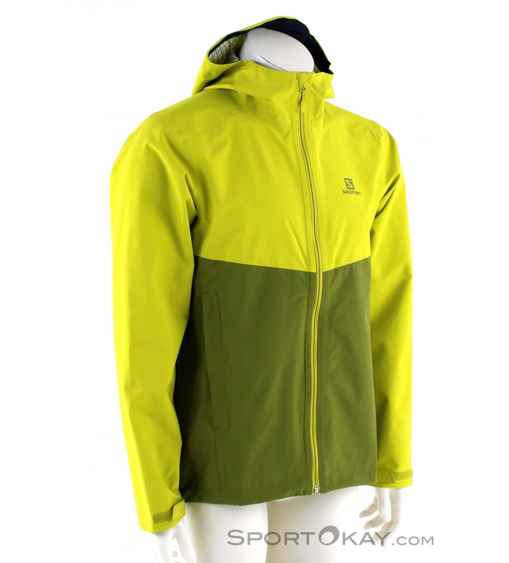 halvin hinta online jälleenmyyjä Tarjouskoodi Salomon Salomon La Cote Flex 2,5L Mens Outdoor Jacket