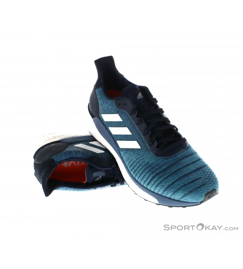 adidas Solar Glide 19 Laufschuhe Herren blau 40 23