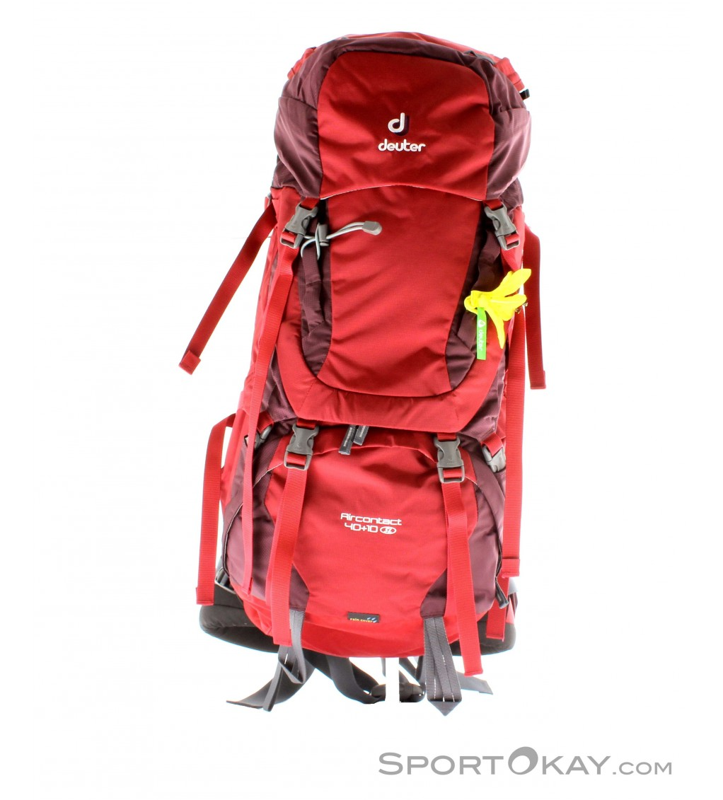 how to wear a deuter backpack