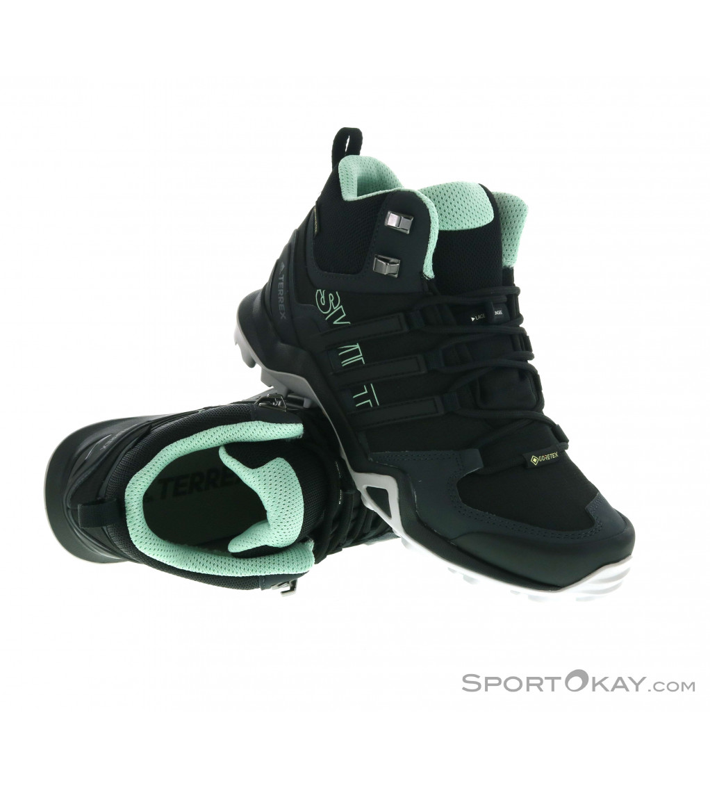 adidas Terrex adidas Terrex Swift R2 Mid GTX Womens Hiking Boots Gore-Tex