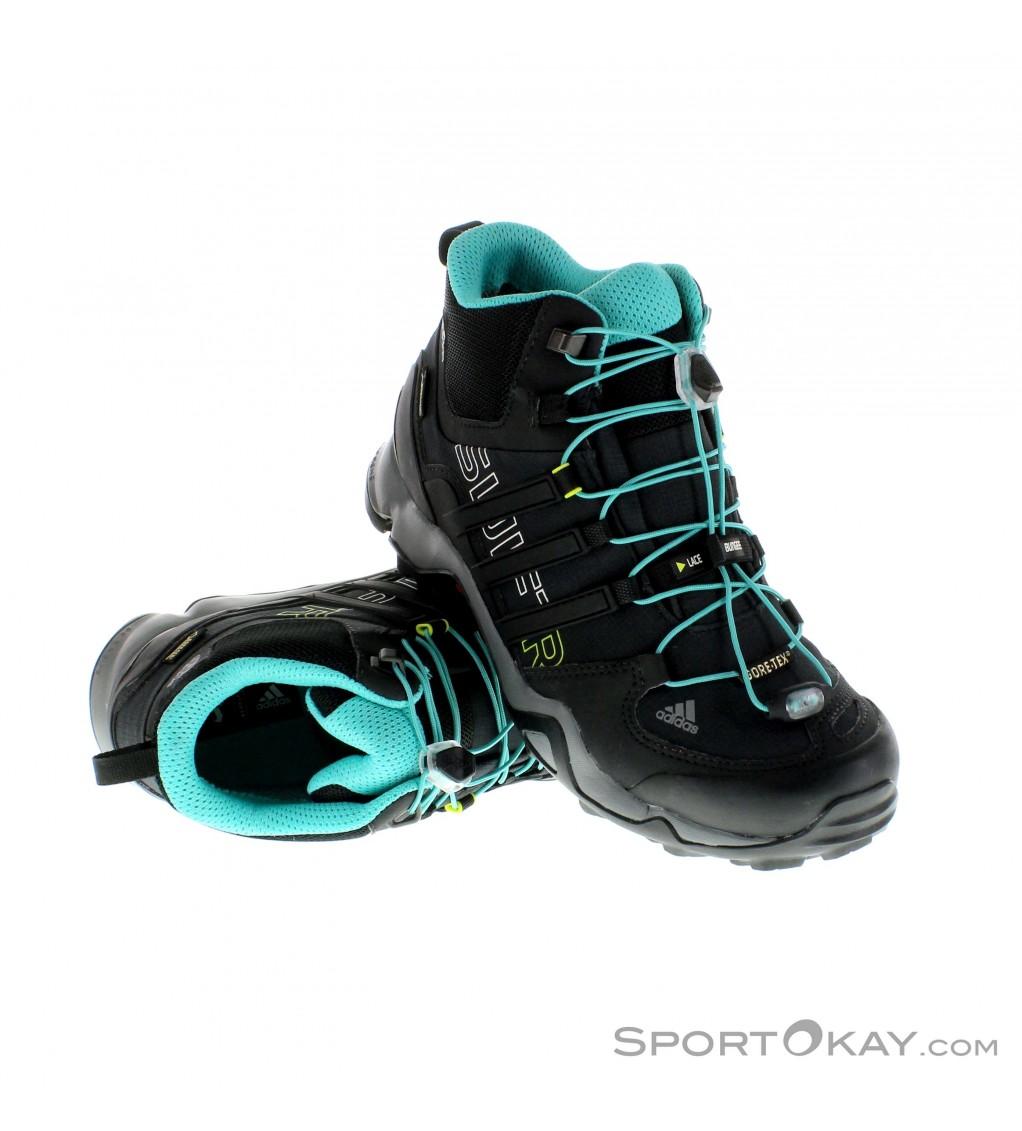 adidas Adidas Terrex Swift R Mid Womens Trekking Shoes Gore Tex